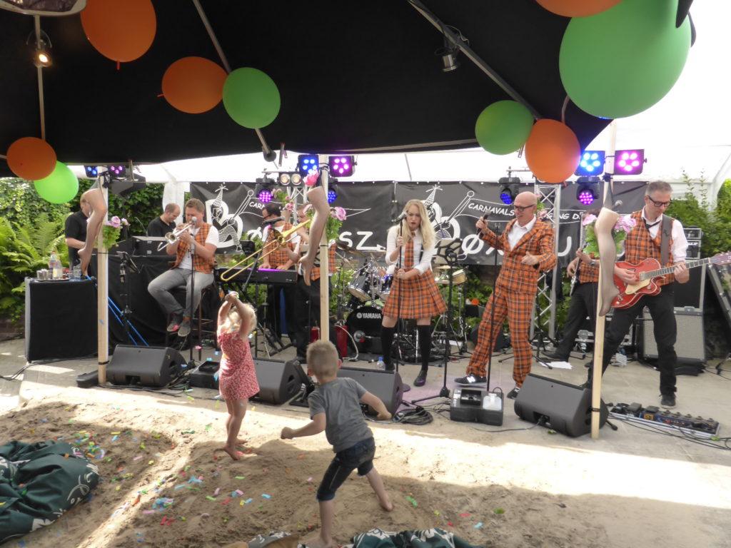 Feestband BAM bij 33 jaar de Bøxskusz