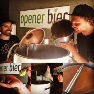 brouwproces bij Opener bier