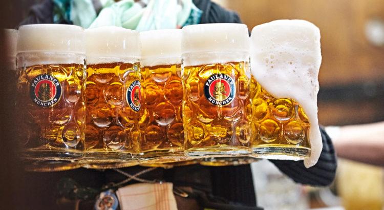 paulaner bier boktoberfeszt