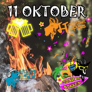 11 Oktober zondag bokken