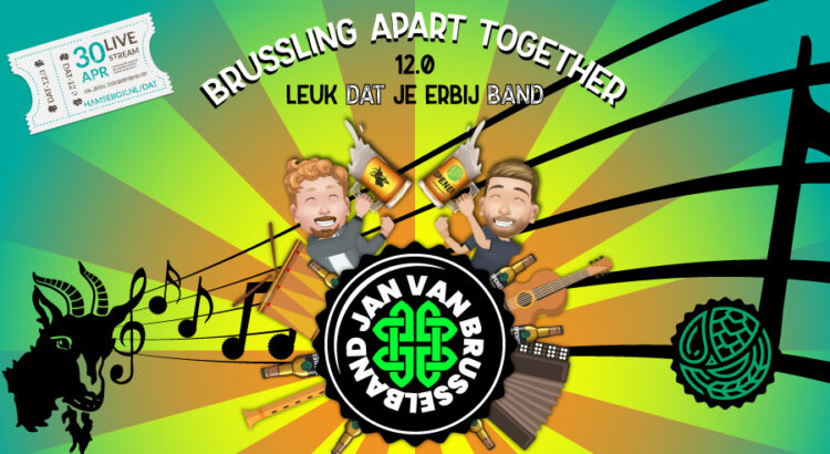 Drinking Apart Together Jan van Brusselband