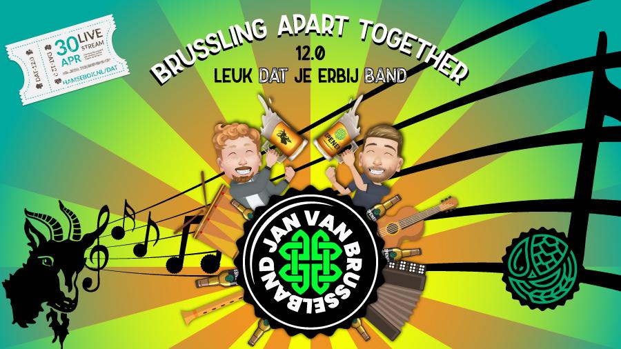 Drinking Apart Together Jan van Brusselband