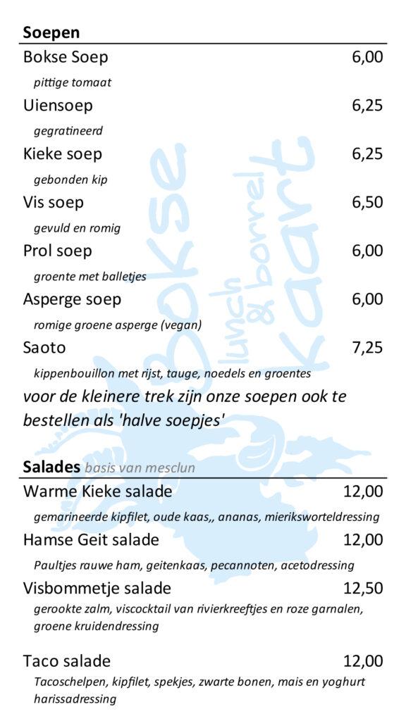 Soep & Salades